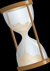 Kunden-Empfehlungen-Sanduhr-Intervall