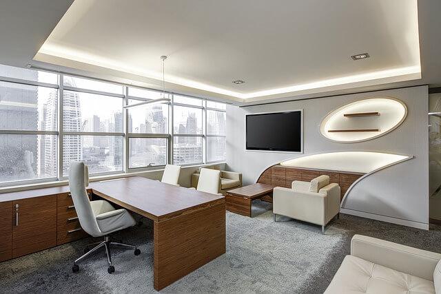 Schreibtisch-weiß-hochglanz