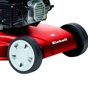 Einhell Benzin Rasenmäher GH-PM 40 P (1,6 kW, 40 cm Schnittbreite, 3-fache Schnitthöhenverstellung 32-62 mm, 45 l Fangsack) -