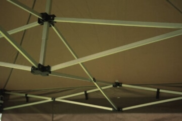 Falt Pavillon Aufbau