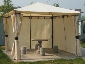 Luxus-Pavillon Venezia 3x3m mit Seitenteilen -