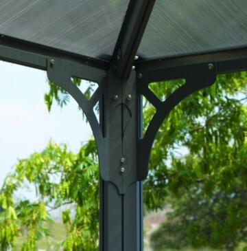 Pavillon Dachstreben