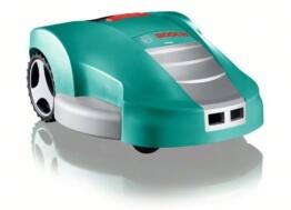 Bosch DIY Mähroboter Indego, Ladestation, 200 m Begrenzungsdraht, Netzgerät, Karton (32,4 V, Für bis zu 1000m² Rasenfläche, Grasschnitthöhe 20-60 mm, Mähfläche pro Ladung: bis zu 200 m²) -