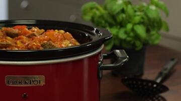 Crock-Pot roter Schongarer 3,5 L -
