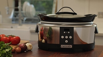 Crock-Pot Schongarer mit digitalem Countdown-Timer -