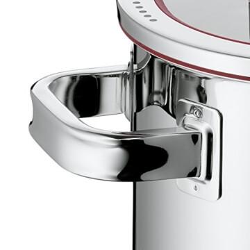 WMF Topf-Set 4-teilig Function 4 Innenskalierung Deckel mit 4 Abgießfunktionen Made in Germany Glasdeckel Cromargan Edelstahl poliert induktionsgeeignet spülmaschinengeeignet -