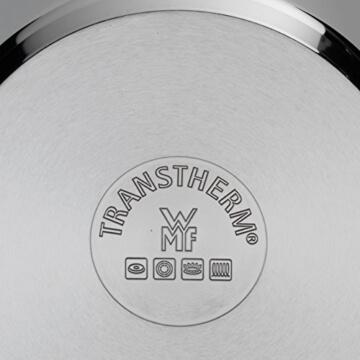 WMF Topf-Set 5-teilig Provence Plus Schüttrand Glasdeckel Cromargan Edelstahl poliert induktionsgeeignet spülmaschinengeeignet -