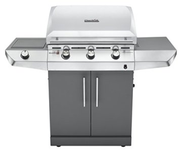 Char-Broil Gas Grill, CB Performance T-36G, silber / anthrazit, 139 x 56 x 116 cm, 140606 -